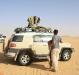 white desert safari trip