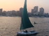 sailing in the nile in Egypt