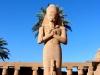 Karnak temple Statue of Ramses