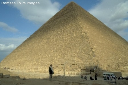 Keops pyramid in Giza