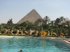 pyramids view egypt