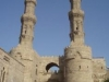 Bab Zuweila gates in islamic cairo