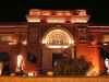 egyptian museum at night